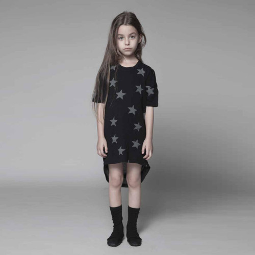 Black Star Tunic Dress