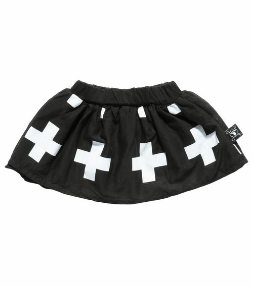 Black Plus Skirt