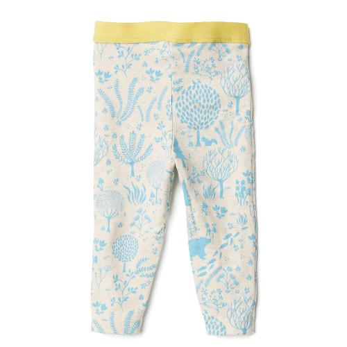 Blue Woodland Legging