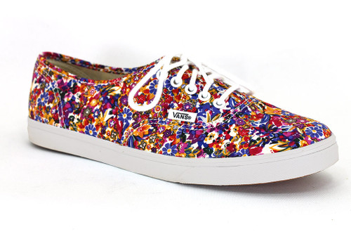 Authentic Ditsy Floral Purple Shoes