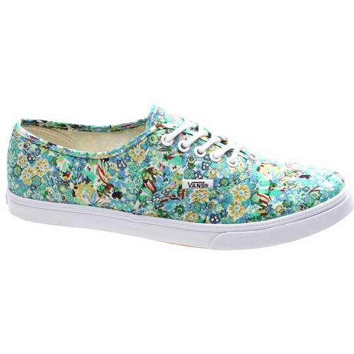 Authentic Ditsy Floral Pool Green Shoes