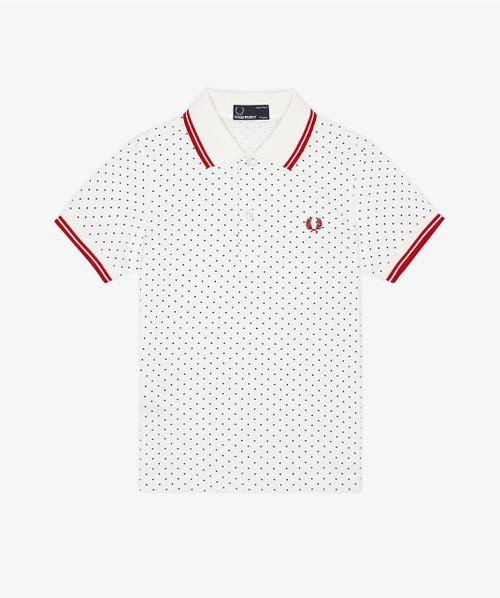 Polka Dot Pique Shirt