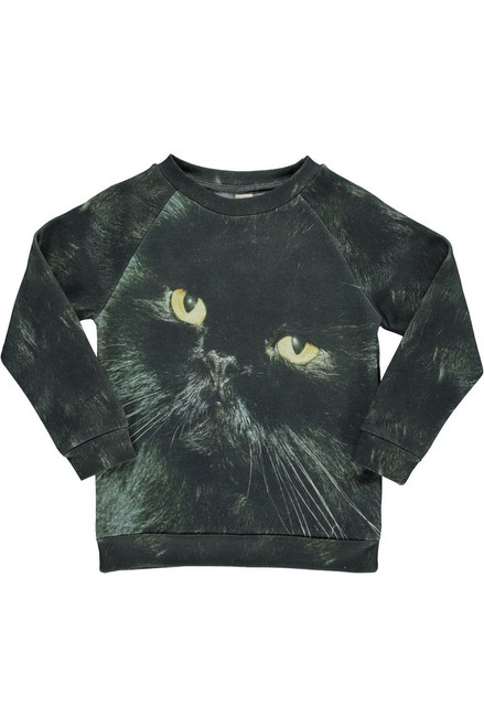 Black Cat Basic Sweat