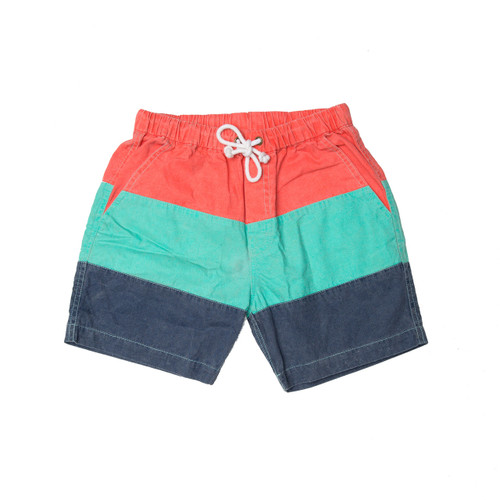 Multi Panel Boat Shorts