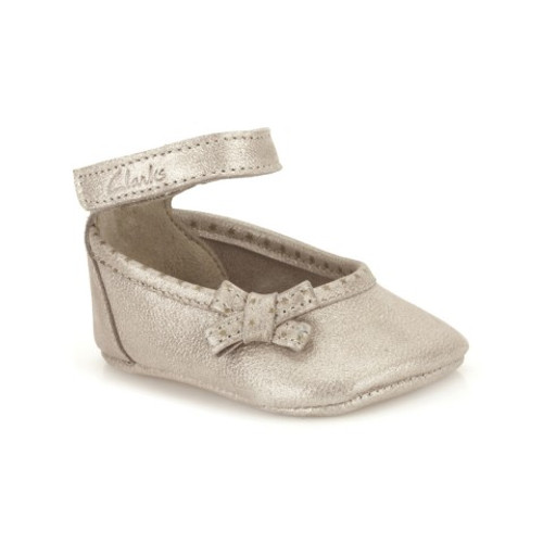 Baby Harper Gold Sparkle Shoes
