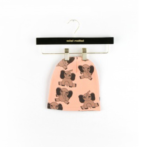 Pink Elephant AOP Beanie