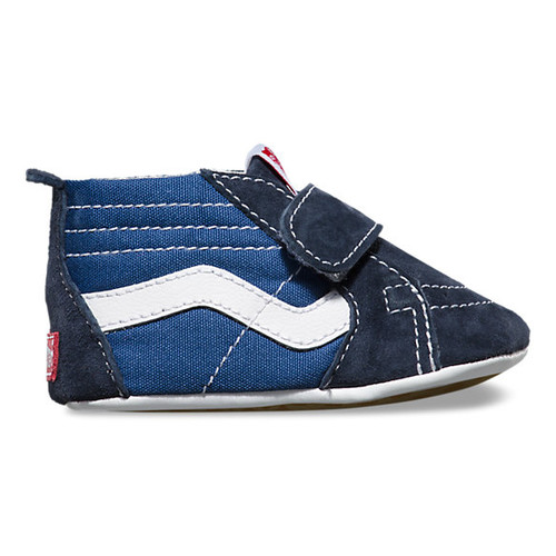 Sk8-Hi Crib Shoes Navy
