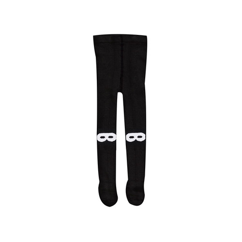 Knitted Tights Black Mask