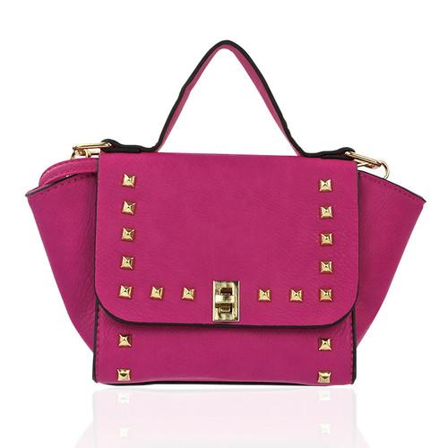 Jules Studded Pink Bag