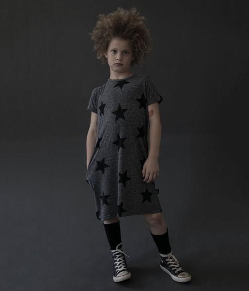 Star A Dress Charcoal