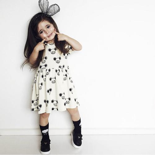 Black Mouse Dress