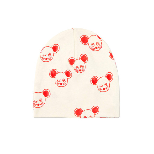 Red Mouse Beanie
