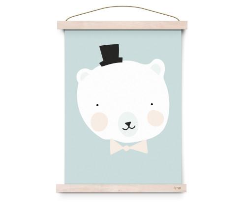 Mister Polar Poster A3