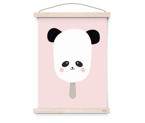 Panda Pop Poster A3