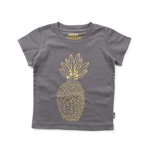 Waveapples T-Shirt Charcoal