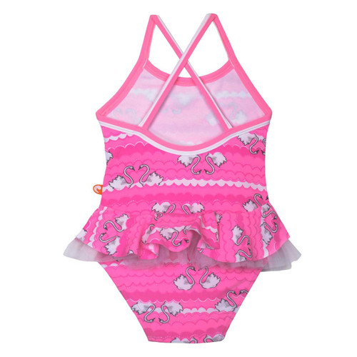 Swan Cross Back Swimming Costume
