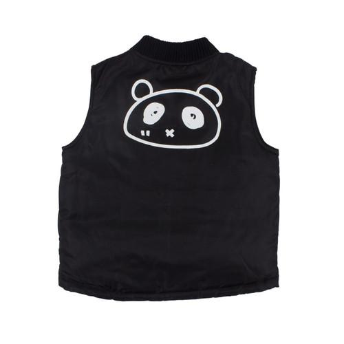 Panda Face Padded Vest