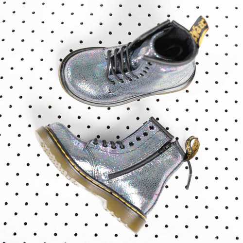 Delaney Silver Grey Boot
