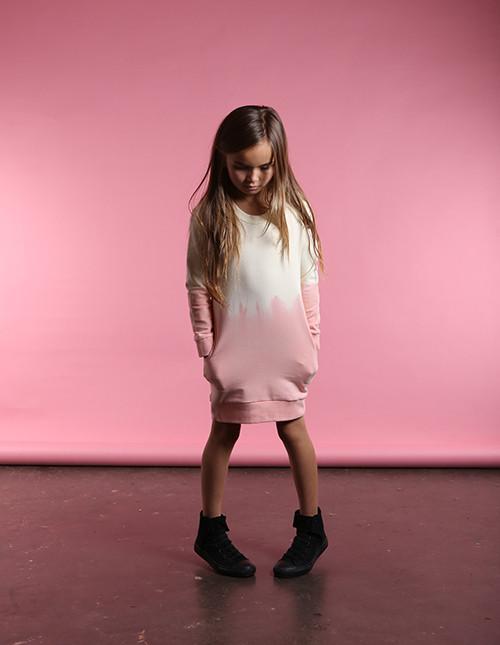 Furry Pocket Crew Dress