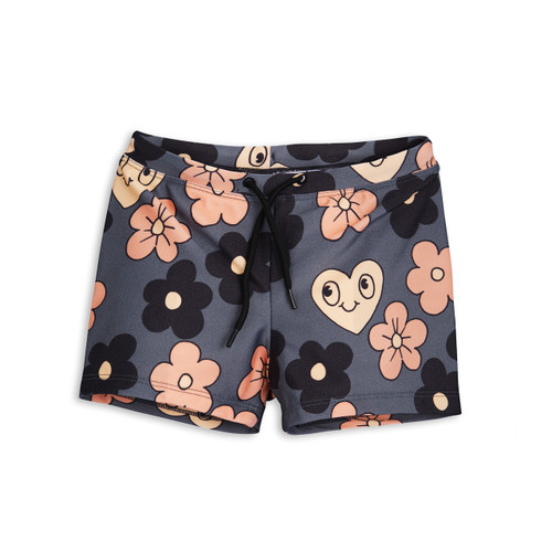 Flower Swimpants Grey