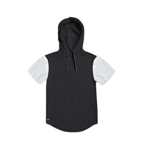 Short Sleeve Over Head Hoodie