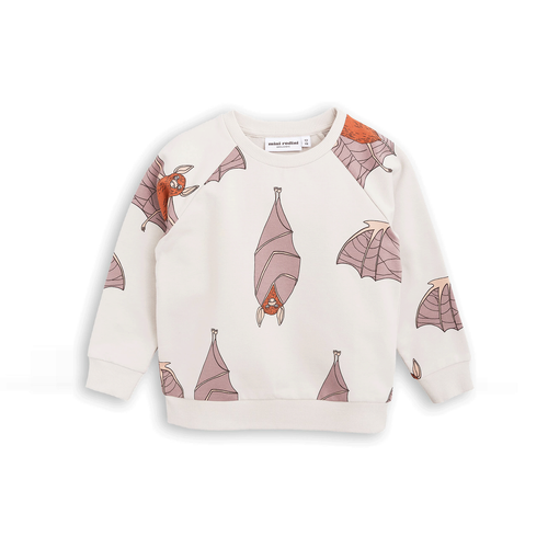 Bat Sweatshirt AOP Light Grey