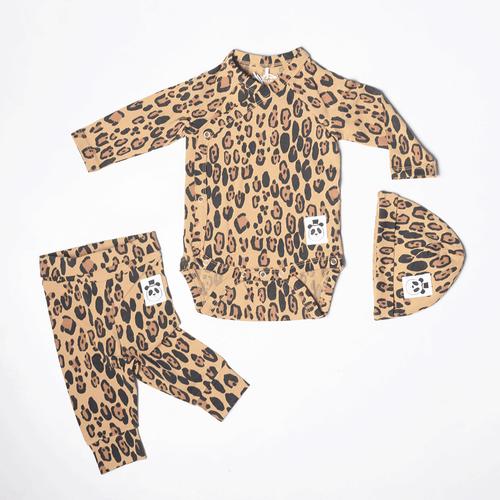 Basic Leopard Wrap Body