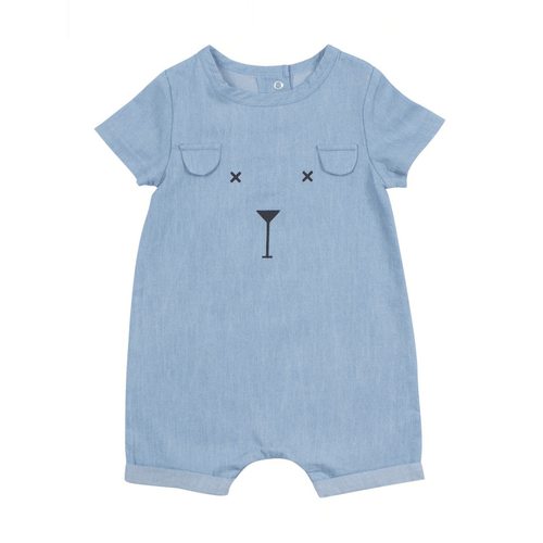 Character Chambray Playsuit
