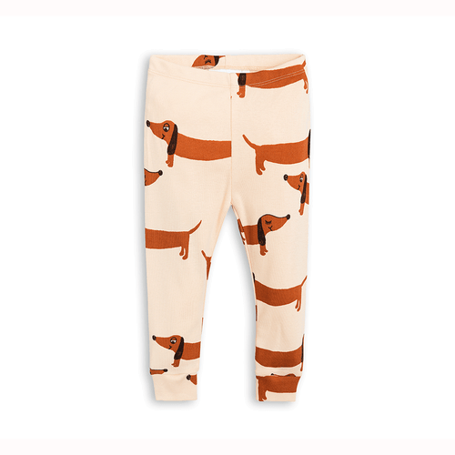 Sausage Dog Newborn Leggings