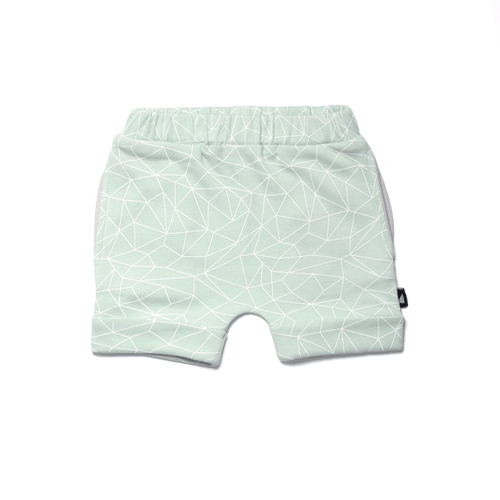 Fractured Mint Shorts