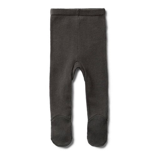 Dark Moon Knitted Legging With Feet