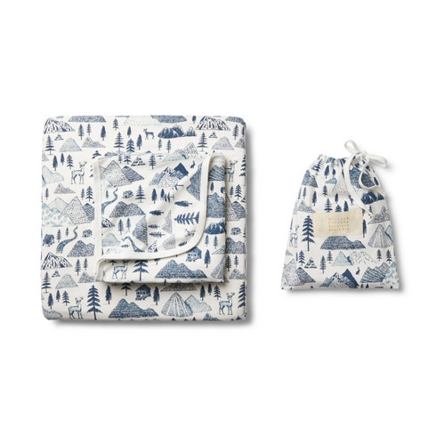 The Hills Bassinet Sheet Set