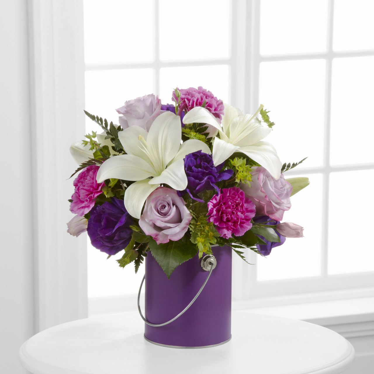 Color Your Day With Beauty Bouquet Long Island Flower Delivery