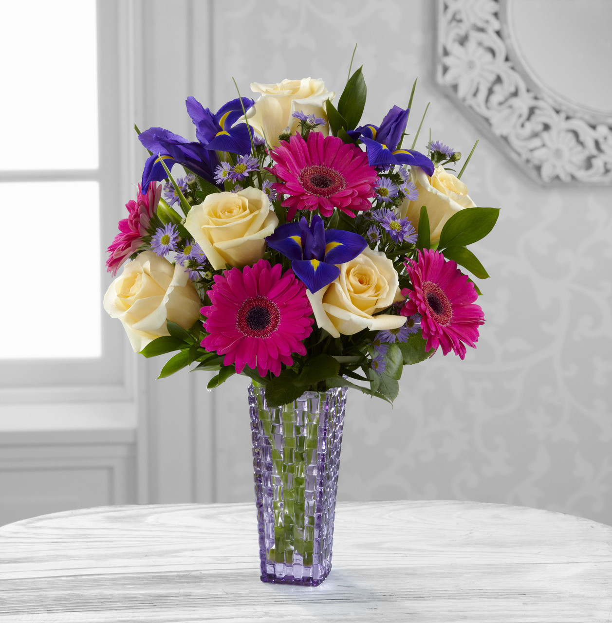 Hello happiness bouquet by better homes and gardens izmirmasajfo