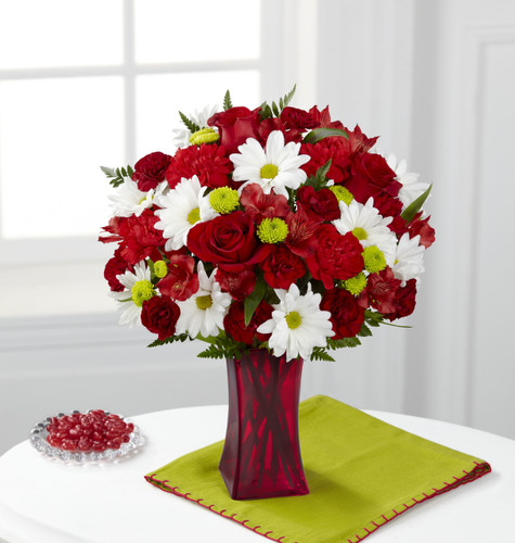Cherry Sweet Bouquet Flowers Long Island
