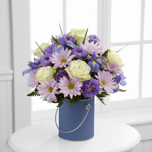 TheColor Your Day With Tranquility Bouquet