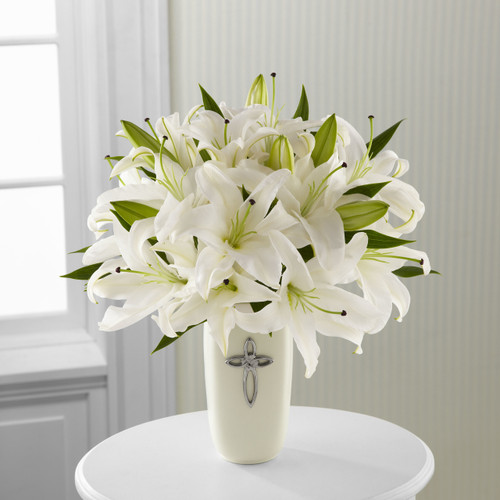 Faithful Blessings Bouquet Long Island Flower Delivery