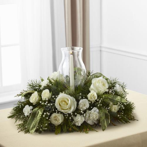 Glowing Elegance Centerpiece Florist Long Island NY