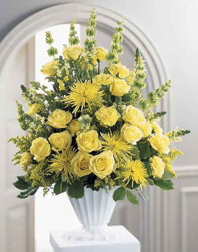 Glowing Ray Arrangement Long Island Flower Delivery