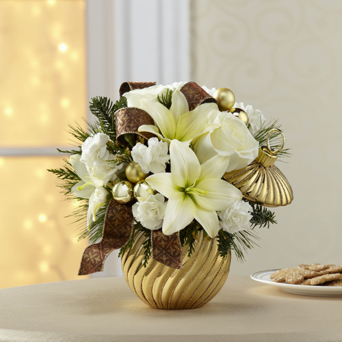 Happiest Holidays Bouquet Long Island Flower Delivery