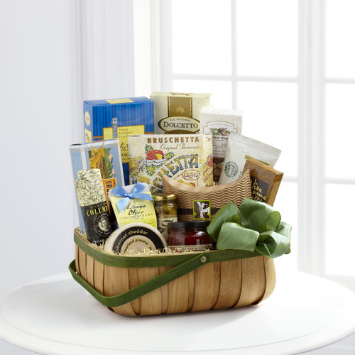TheHeartfelt Sympathies Gourmet Basket