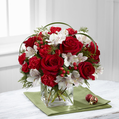 Holiday Hopes Bouquet by Better Homes and Gardens Long Island Flower Delivery