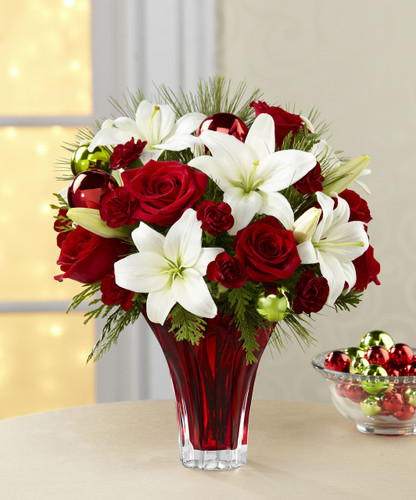 TheHoliday Wishes Bouquet