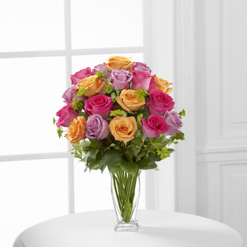 ThePure Enchantment Rose Bouquet