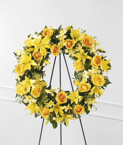 Ring of Friendship Wreath Long Island Florist