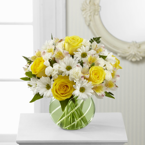 Sunlit Blooms Bouquet Long Island Florist