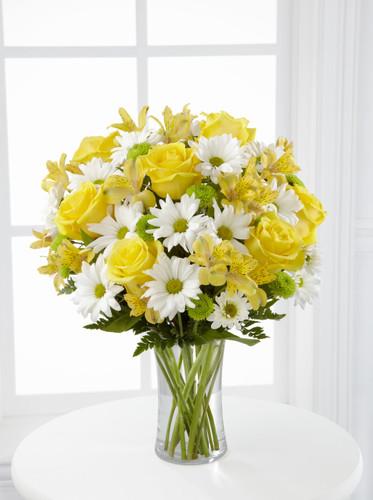 Sunny Sentiments Bouquet Flowers Long Island