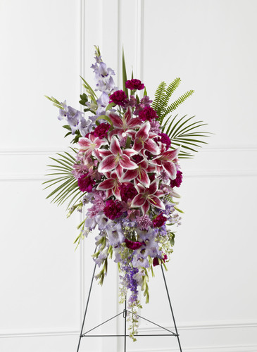 The Tender Touch Standing Spray Flowers Long Island