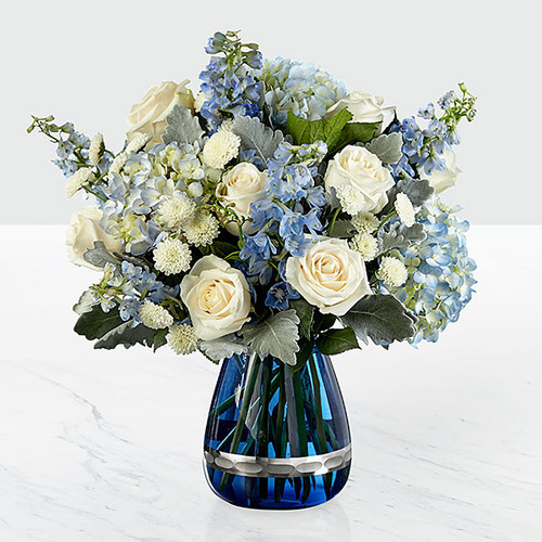 Faithful Guardian Bouquet - VASE INCLUDED Long Island Flower Delivery