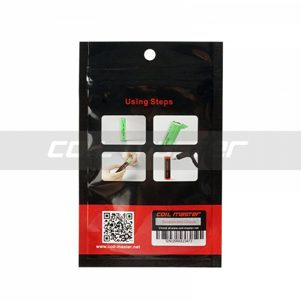 Coil Master PVC 18650 Battery Wraps